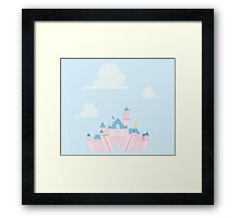 Step Into the Magic Framed Print