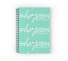 Invasion Logo - Jees Camp 2015 Spiral Notebook