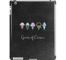 Game Of Cones iPad Case/Skin