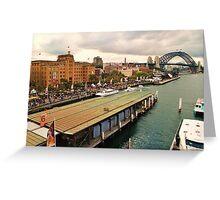 Circular Quay West Greeting Card
