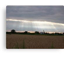 Rural Sky Canvas Print