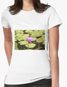 Water Lillies Womens Fitted T-Shirt