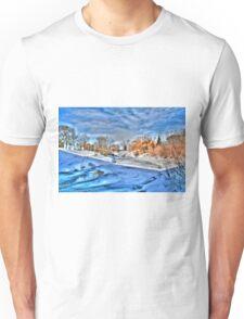 ALONG THE STURGEON (HDR) Unisex T-Shirt