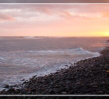 Sunset by Riviere des Gallets by ashamtally