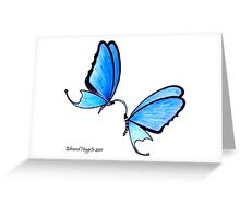 Butterfly Romance Greeting Card