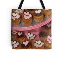 Mini Heart Cakes Tote Bag