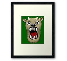 Scary Monster Framed Print