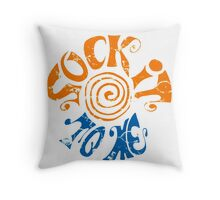 Sock It To Me! Throw Pillow
