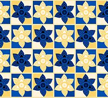 Daffodils pattern by Lenka24