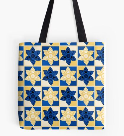 Daffodils pattern Tote Bag