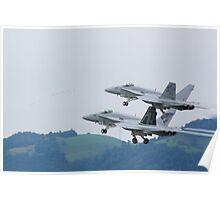 F/A 18 Hornet Poster