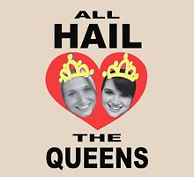 All Hail The Queens Womens Fitted T-Shirt