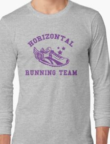 Horizontal Running Team Long Sleeve T-Shirt