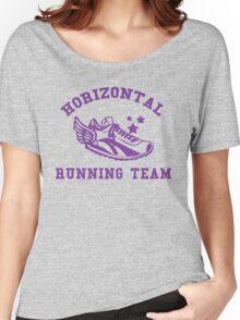 Horizontal Running Team Women's Relaxed Fit T-Shirt