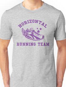Horizontal Running Team Unisex T-Shirt