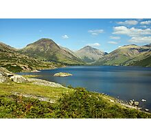 Lake District Wass Water Photographic Print