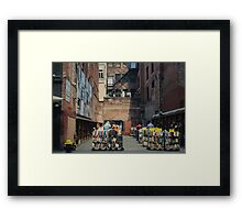 Boston, MA // B_Landscapes Framed Print