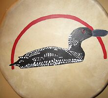 Loon drum by artwin1