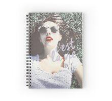 C'est La Vie Spiral Notebook
