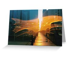 Chicago, IL // B_Landscapes Greeting Card
