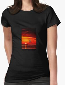 Take me to the sun Womens Fitted T-Shirt