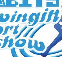 SEGAbits Swingin' Report Show Podcast Logo Sticker