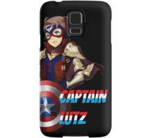 CAPTAIN LUTZ [Fire Emblem x Captain America] Samsung Galaxy Case/Skin