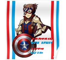 CAPTAIN LUTZ [Fire Emblem x Captain America] Poster