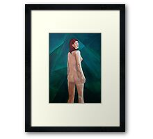 For a Minute There, I lost Myself Framed Print