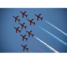 Red Arrows Number 1 Photographic Print