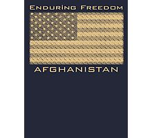 Enduring Freedom Afghanistan Photographic Print
