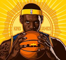 KING JAMES REIGNS by MIAMIKAOS
