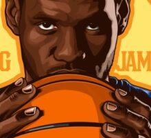 KING JAMES REIGNS Sticker