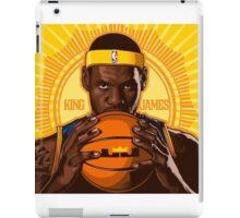 KING JAMES REIGNS iPad Case/Skin
