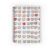 Cat Attack Spiral Notebook