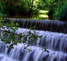 Rushing waters by Kevin McNeill
