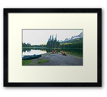 All is Peaceful Framed Print
