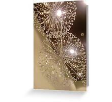 Artifical firework Greeting Card