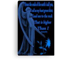 ⊱✿ ✿⊰SYMPATHY CARD WITH BIBLICAL SCRIPTURE⊱✿ ✿⊰ Canvas Print