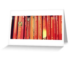 red books Greeting Card