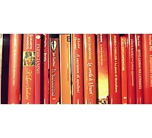 red books Photographic Print