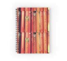red books Spiral Notebook