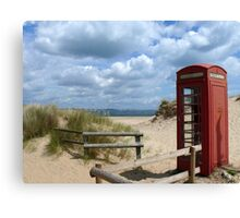 Little Red Box on Holiday Canvas Print