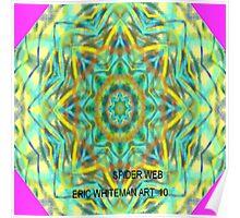 ( SPIDER WEB )  ERIC WHITEMAN  ART Poster