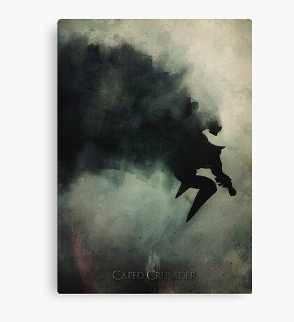 Caped Crusader... Canvas Print