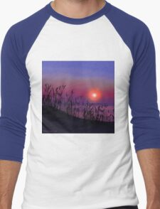 Sunrise on the Great Lakes Men's Baseball ¾ T-Shirt