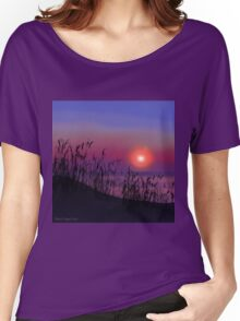 Sunrise on the Great Lakes Women's Relaxed Fit T-Shirt
