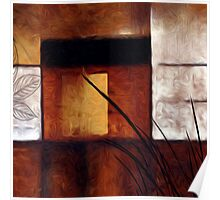 Tradition Abstract Oil Painting Poster