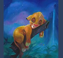 The Lion Sleeps Tonight by UnderArt