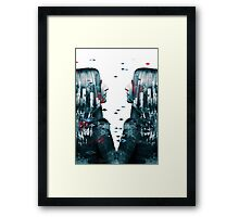 We are here are Framed Print